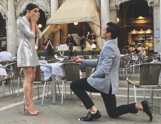 Val Chmerkovskiy Proposes to Jenna Johnson