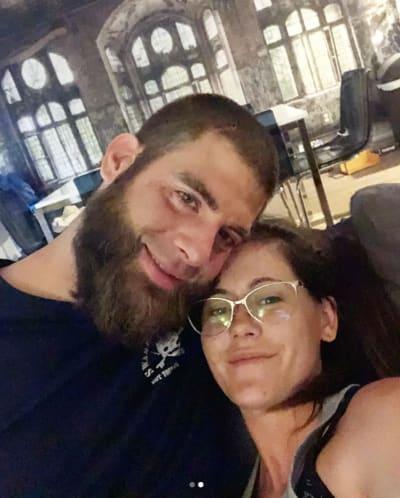 Dave Eason and Jenelle Eason