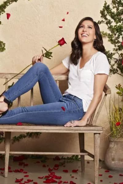 Holding Her Rose