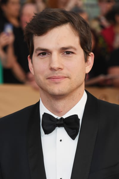 Ashton Kutcher in a Tux