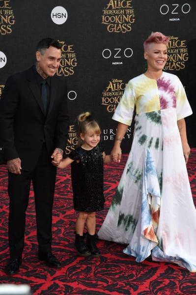 Pink, Daughter, Husband