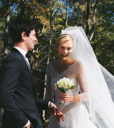 Karlie Kloss Wedding Pic