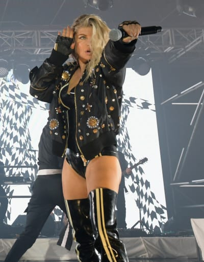 Fergie on Stage