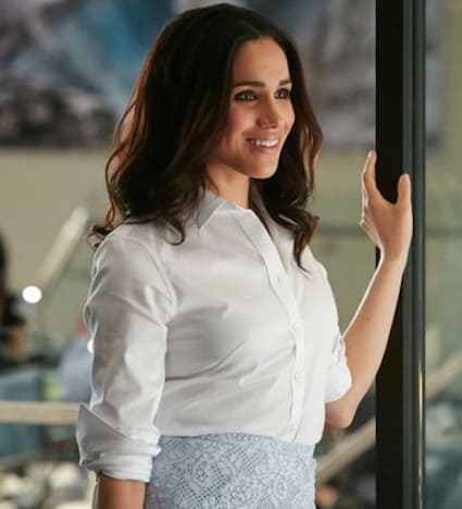 Meghan Markle Plays Rachel