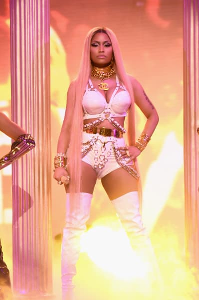 Nicki Minaj at NBA Awards