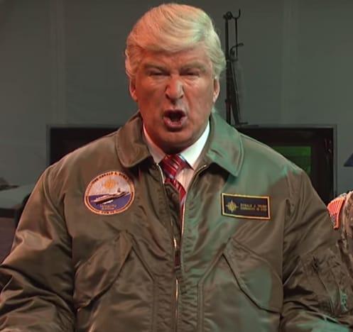 Alec Baldwin as Donald Trump Again