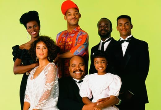 The Fresh Prince of Bel-Air Cast Photo