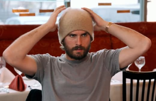 Scott Disick, Dressed Down for Dinner