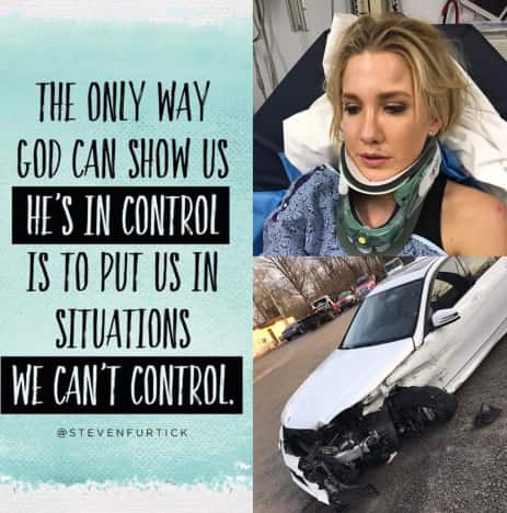 Savannah Chrisley crash pic