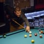 Geno doak plays pool on from not to hot