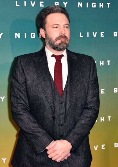 Ben Affleck Stands Up