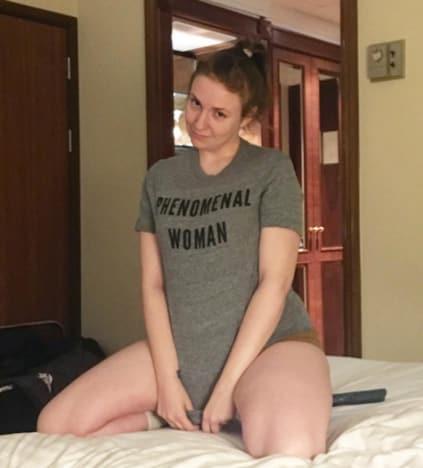 Lena Dunham No Pants
