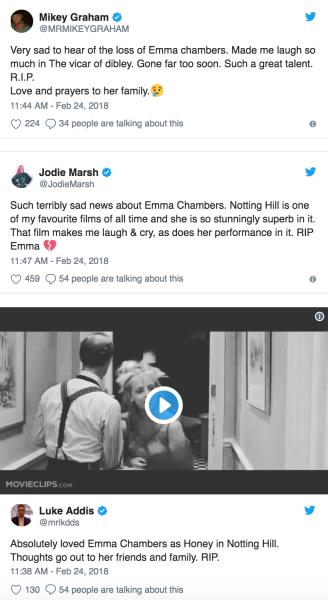 mourning emma