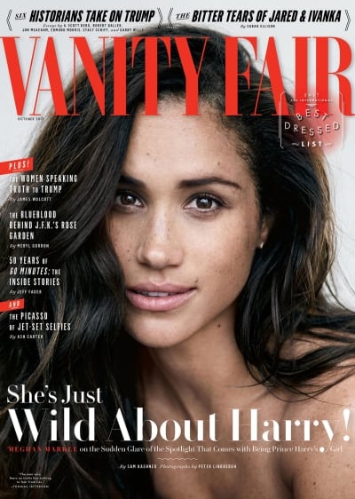 Meghan Markle Covers Vanity Fair