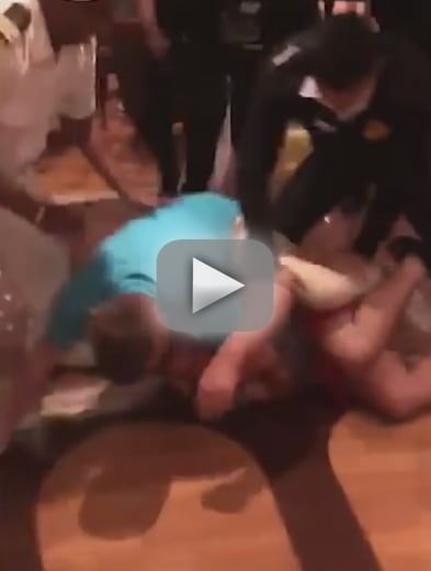 Cruise ship brawls horrified passengers ran for their cabins