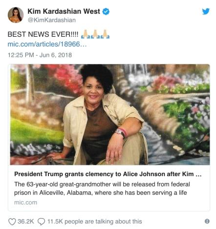 Kim Kardashia response