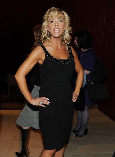 Kate Gosselin in a Black Dress Photo