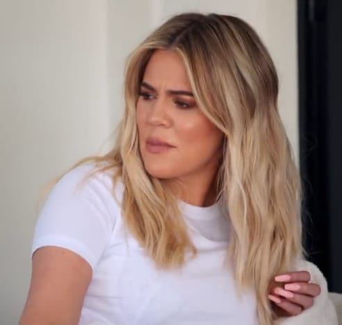 Khloe is Aghast on KUWTK