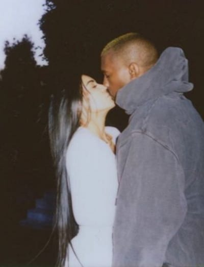 Kimye on Valentine's Day 2017