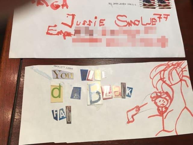 Jussie smollett death threat