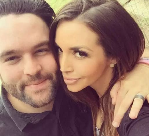 Mike and Scheana Shay Pic