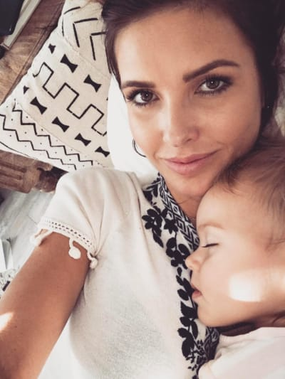 Audrina Patridge, Daughter