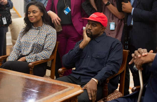 Kanye in the oval