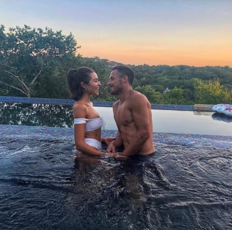 Olivia Culpo and Danny Amendola