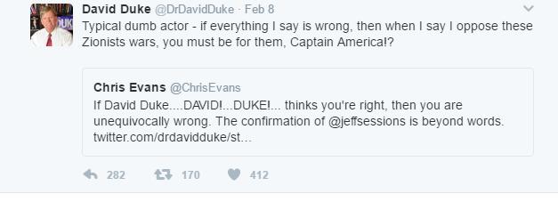Duke responds