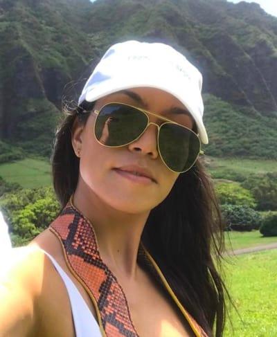 Kourtney Kardashian: A Pretty Selfie