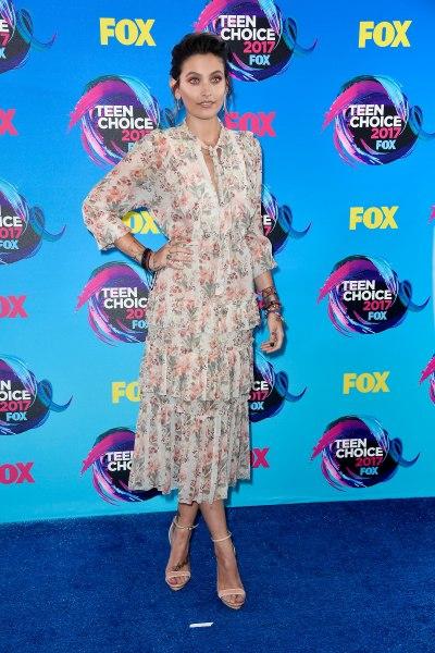 Paris Jackson at the Teen Choice Awards