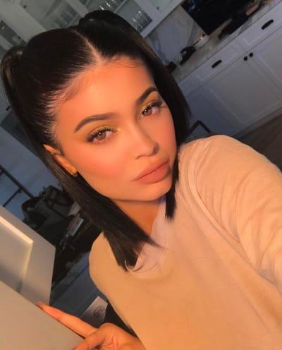 A Kylie Jenner Face