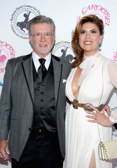 Alan Thicke with Tanya Callau