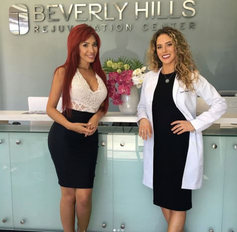 Farrah Abraham, Rejuvenation Clinic
