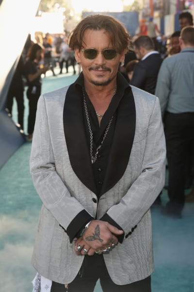 Johnny Depp: Pirates 5 Premiere
