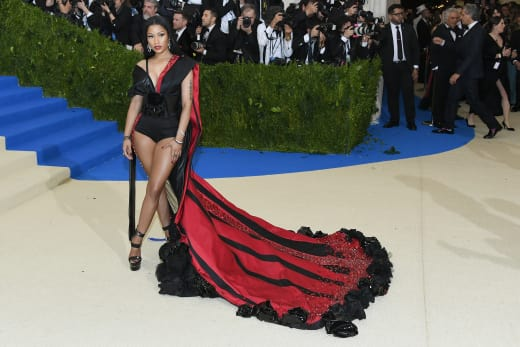 Nicki Minaj at 2017 MET Gala