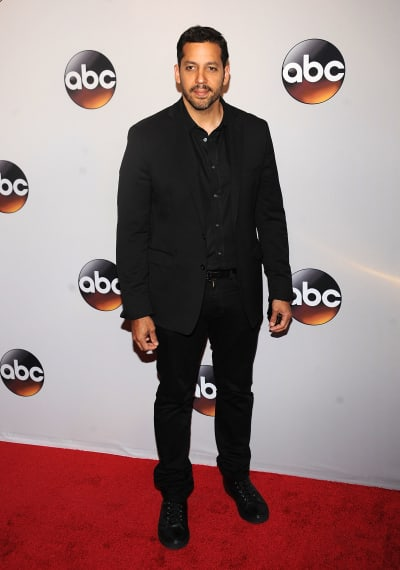 David Blaine on a Red Carpet