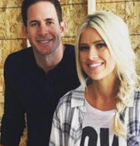 Tarek and Christina El Moussa on IG