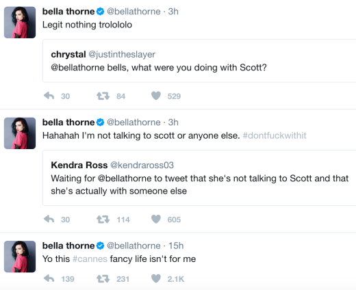 Bella's Tweets