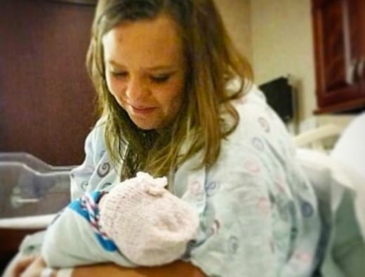 Catelynn lowell and baby