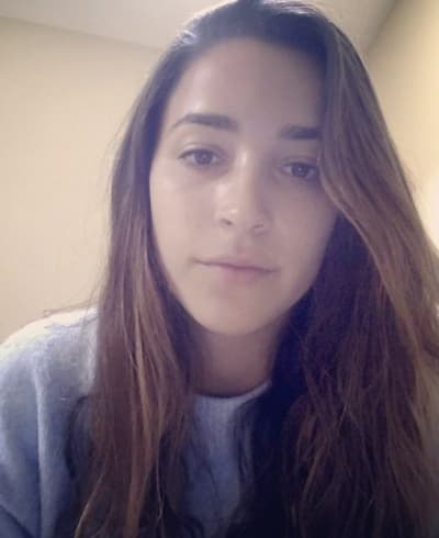 Aly Raisman Video Selfie