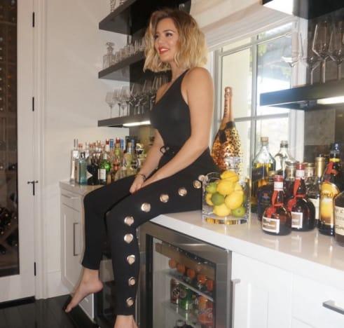 Khloe Kardashian on Bar