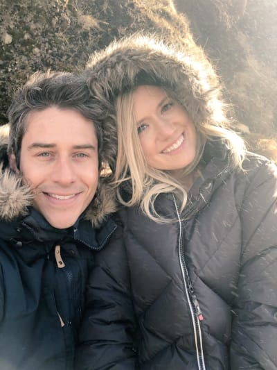 Arie Luyendyk Jr. and Lauren Burnham, Iceland Trip