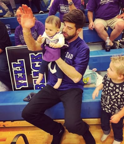 David Eason Cheering with Ensley and Kaiser