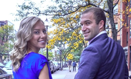 Jon Francetic and Dr. Jessica Griffin