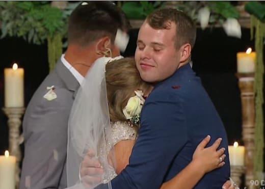 Joe and Kendra Embrace