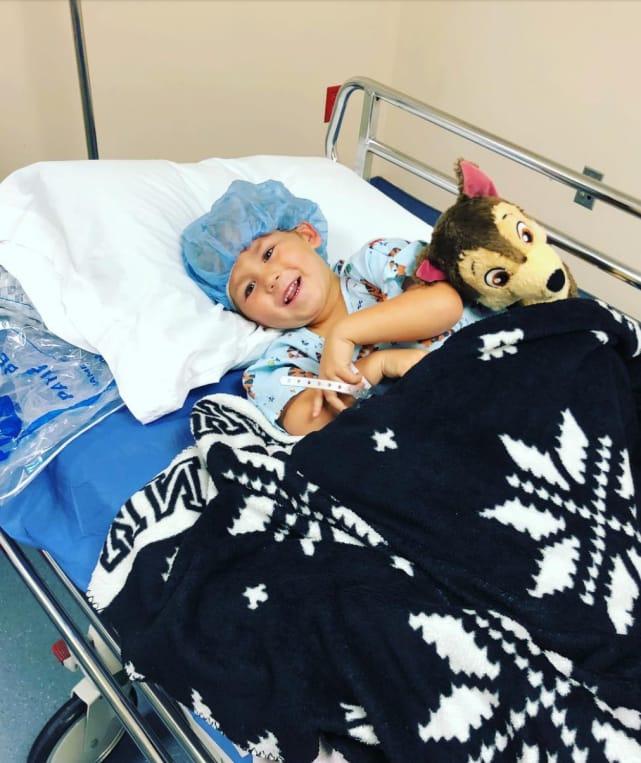 Kaiser hospitalized