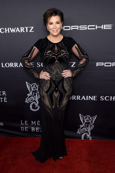Kris Jenner Poses