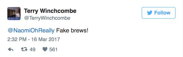 Fake brews