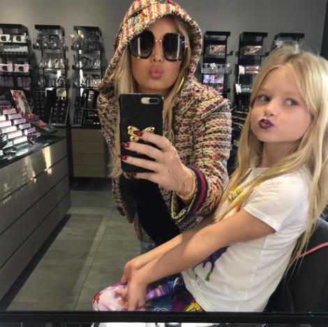 Jessica Simpson's Daughter Wears Makeup
